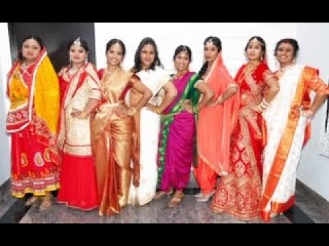 Best Indian Cultural Traditional Fashion Show Displaying Different States Of Incredible India Youtube